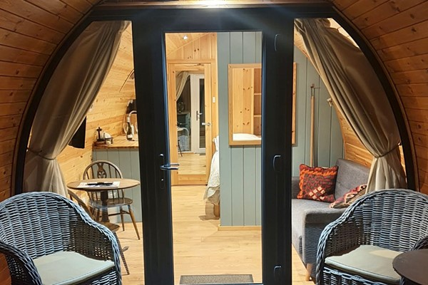 The Quiet Holiday Park One Night Stay In A Glamping Cabin For Two