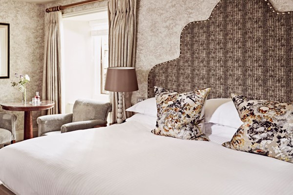 Overnight Gourmet Break in a Castle Room with Dinner and Wine for Two at Bovey Castle Hotel
