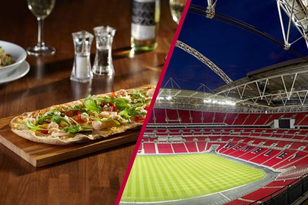 Wembley Stadium Tour And Three Course Meal At Cabana Wembley For Two