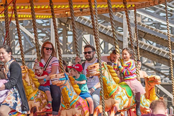 Entry To Dreamland Margate With Unlimited Rides For Two Adults And Two Children