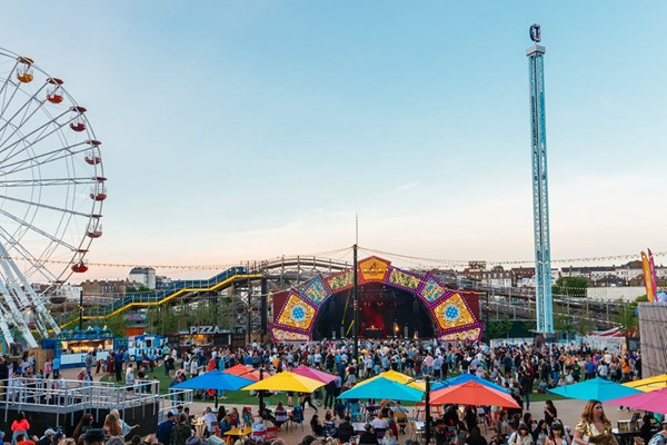 Entry To Dreamland Margate With Unlimited Rides For One Adult And One Child