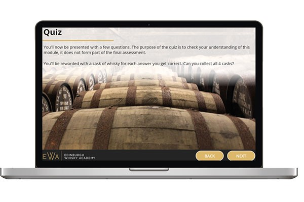 Online Introduction to Whisky Certificate Course for One