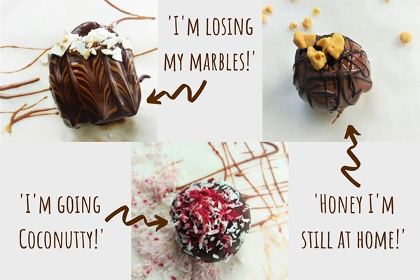 Online Chocolate Truffle Making Webinar with Truffle Kit for Two with My Chocolate