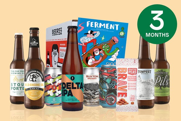 Three Month Eight Pack Of Beer Subscription To Beer52 For One