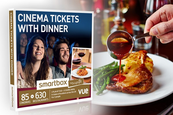 Cinema Tickets With Dinner  Smartbox By Buyagift