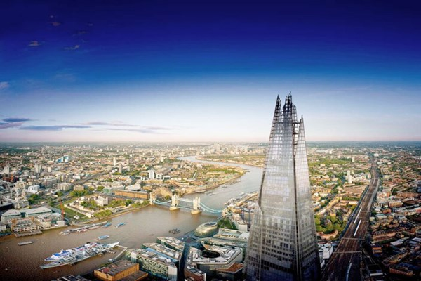 The View From The Shard For Two Adults And Two Children