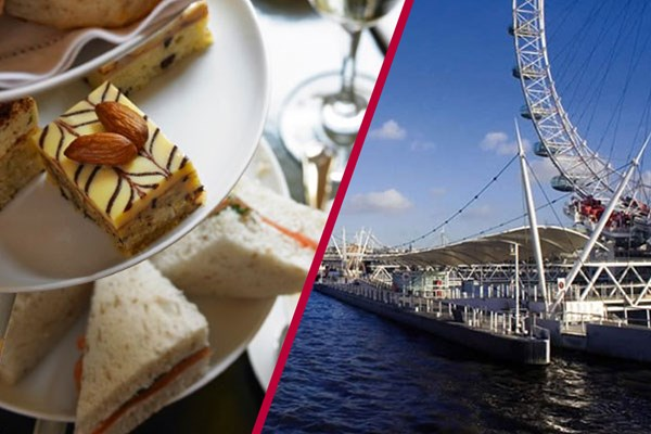 Thames Rover Pass And Afternoon Tea For Two At Art St. Kitchen  Westminster