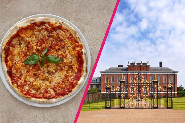 Kensington Palace Entry With Three Courses And Bottle Of Wine At Prezo For Two