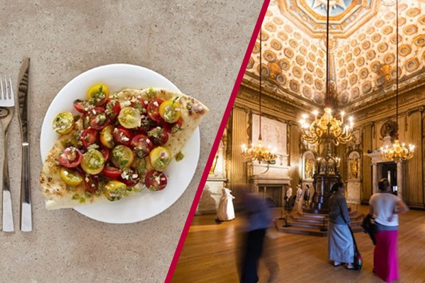 Buy Kensington Palace Entry with Three Course Meal and Glass of Wine at Prezzo for Two