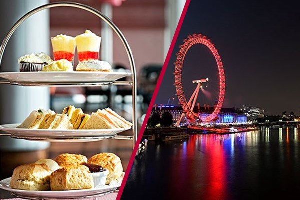 London Eye Visit With Luxury Afternoon Tea For Two
