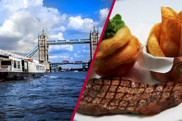 Three Course Meal At Marco Pierre White And River Cruise For Two