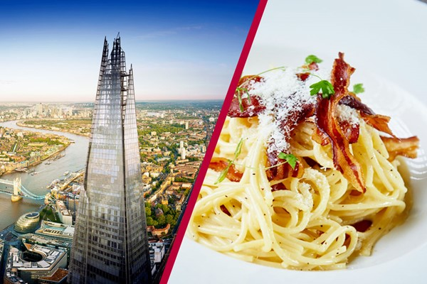 The View From The Shard And Dinner With Fiz At Marco Pierre White