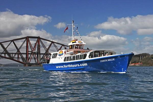 Blackness Castle And Three Bridges Cruise With Cream Tea For Four