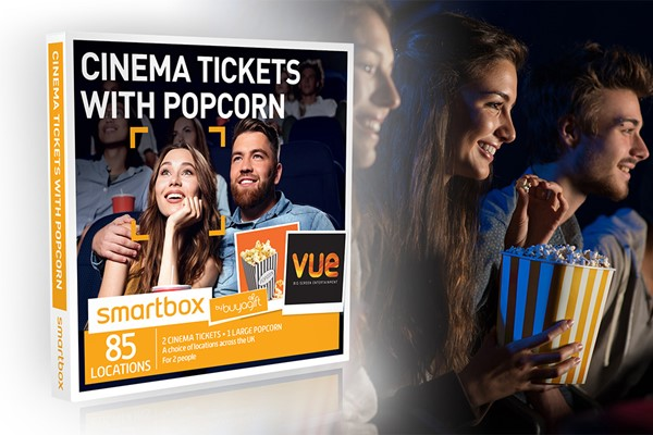 Cinema Tickets With Popcorn - Smartbox By Buyagift