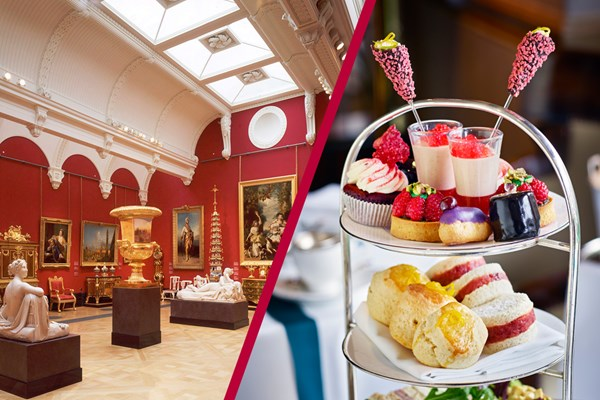 Buckingham Palace Queen's Gallery And Royal Afternoon Tea At Rubens At The Palace