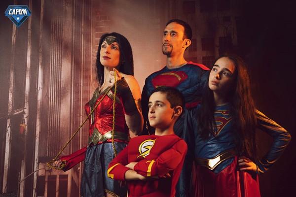 Capow Superhero Photoshoot A Click Portrait Experiences