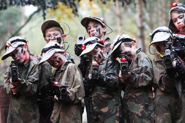 Zap Laser For Six At Combat Centre In Broxbourne