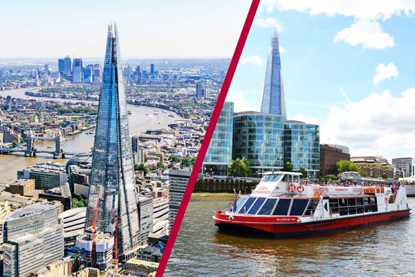 The View From The Shard And Afternoon Tea Cruise For Two
