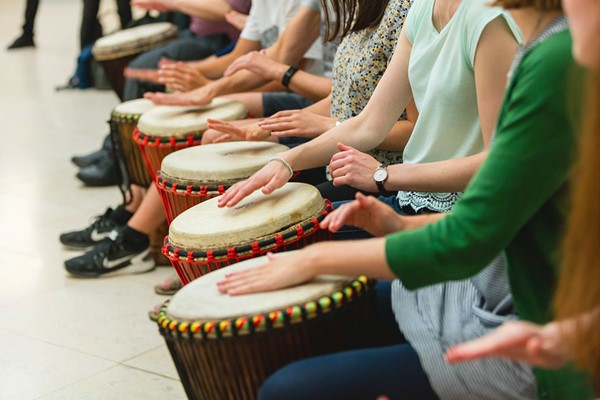 African Drumming Lesson For Two At London African Drumming