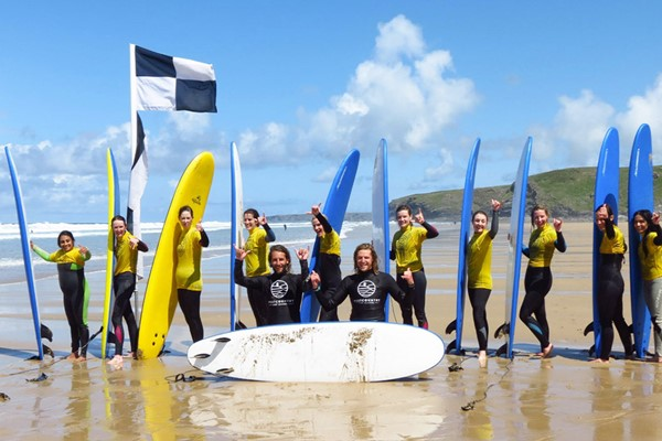 Surf Lesson For Two At Westcountry Surf School