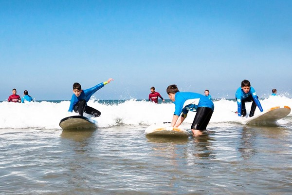 Surfing Experience For Two At Big Green Surf School
