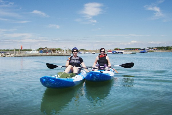 Click to view product details and reviews for Watersports Experience For Two Improvers At The New Forest Paddle Sport Company.