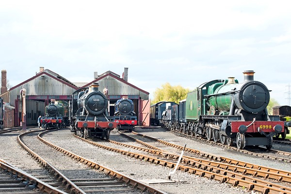 Family Steam Train Day At Didcot Railway Centre
