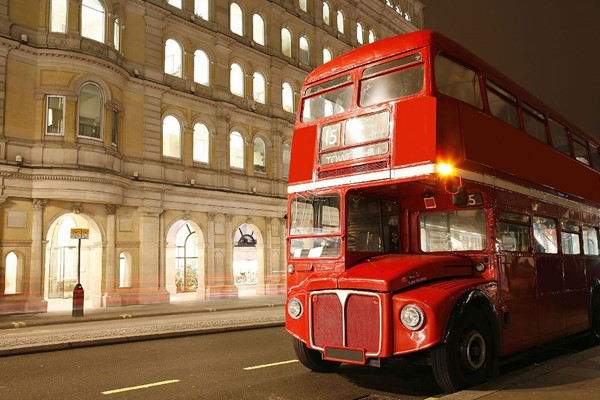 Vintage Bus Tour Of London And Thames Cruise For Two