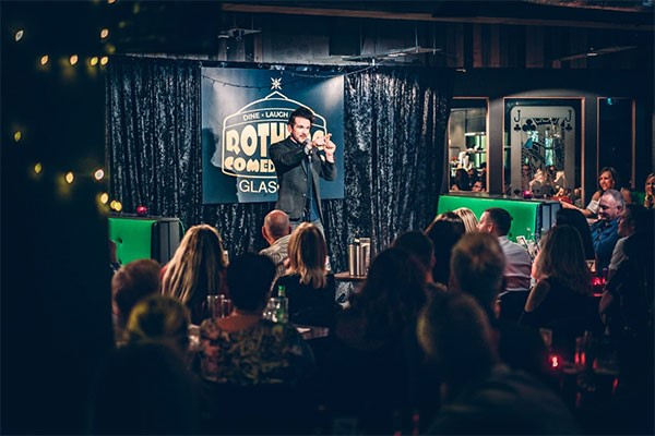 Comedy Night For Two At Rotunda Comedy Club Glasgow