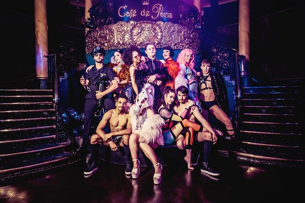Vip Saturday Night Cabaret Show With Three Course Meal For Two At Cafe De Paris