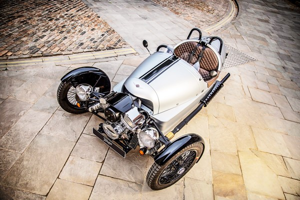 Half A Day Morgan 3-wheeler Driving Experience With A Factory Tour