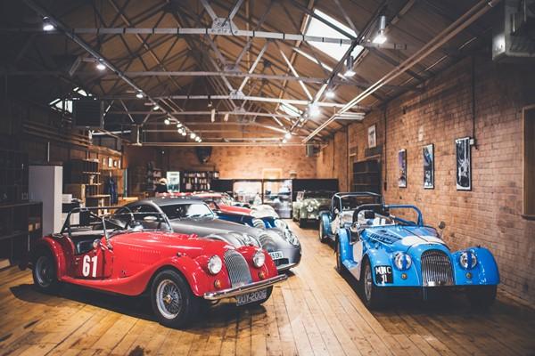 Morgan Motor Company Factory Tour for a Family