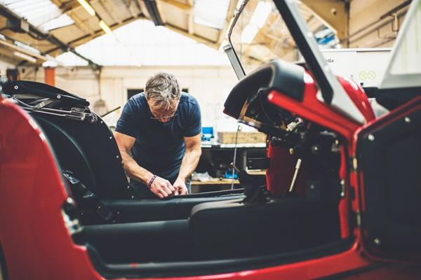 Morgan Motor Car Factory Tour for Two