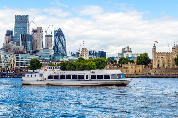 Thames River Service Greenwich To Westminster Or Vice Versa For Two Adult Return