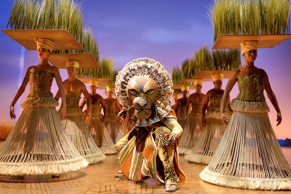 Gold Theatre Tickets To The Lion King For Two
