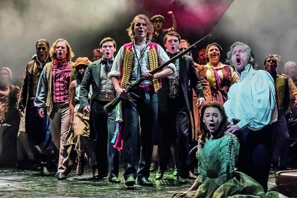 Theatre Tickets To Les Miserables For Two