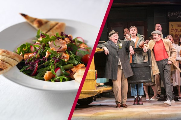 Buy Theatre Tickets to Only Fools and Horses and a Meal with Wine for Two at Prezzo
