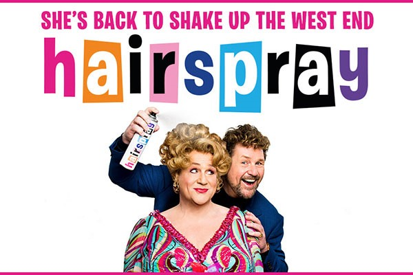Theatre Tickets To Hairspray For Two