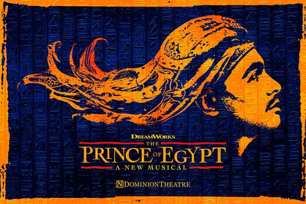 Gold Theatre Tickets To The Prince Of Egypt For Two