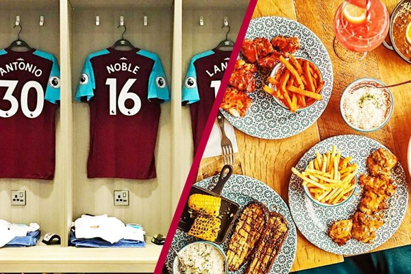 London Stadium Tour And Three Course Meal At Cabana Westfield Stratford For Two