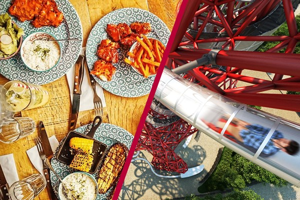 Family Ticket To The Slide At The Arcelormittal Orbit And Meal At Cabana Stratford