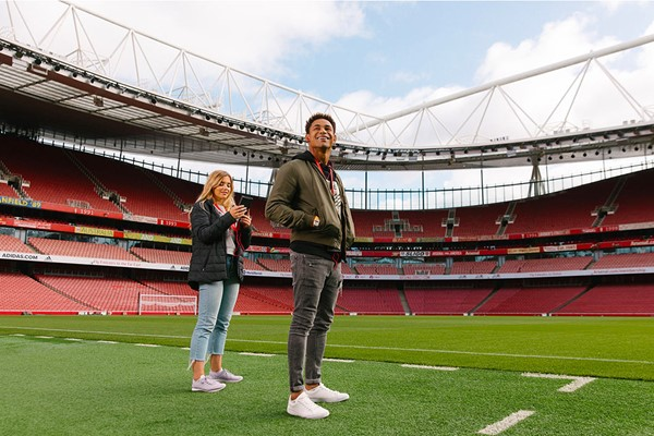 Arsenal Emirates Stadium Tour For Two Adults  Includes Branded Earphones
