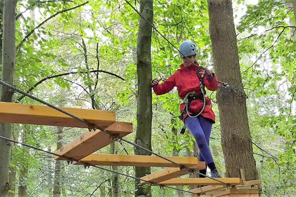 Tree Top Trials Entry To Hero Course For One Adult And One Child