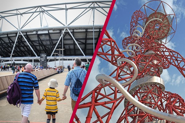 London Stadium Tour And The Slide At The Arcelormittal Orbit  Family Ticket