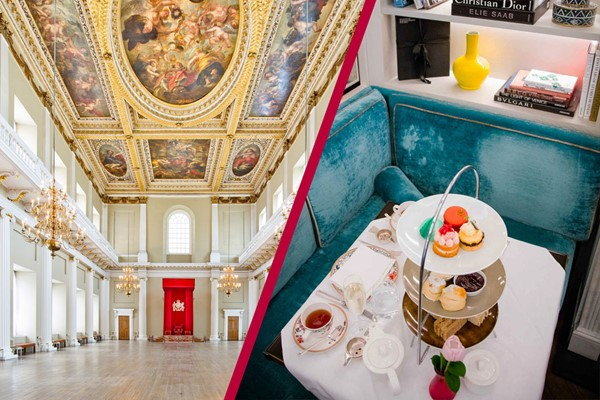 Entry To Banqueting House And Champagne Afternoon Tea For Two At The 5* Flemings Mayfair Hotel