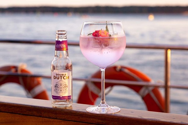 Buy Artisan Gin Tasting with Canapes for Two Aboard Dorset Cruises