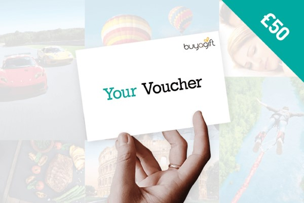 50 Buyagift Money Voucher