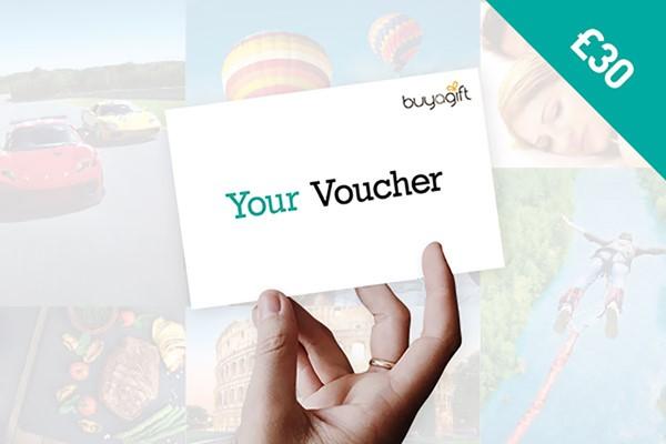 £30 Buyagift Money Voucher