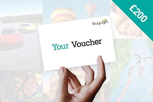 £200 Buyagift Money Voucher
