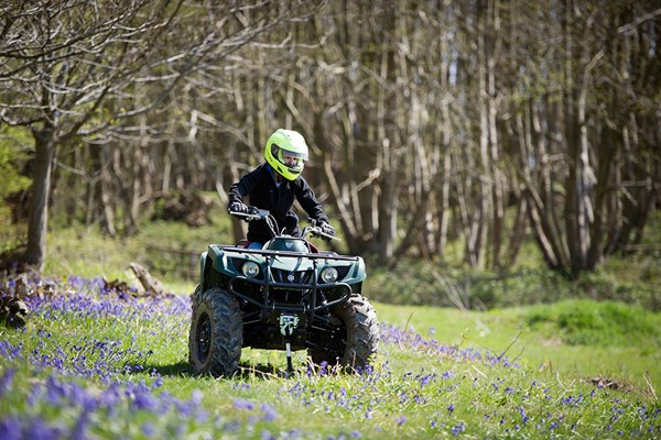 Two Hour Quad Bike Thrill In Kent For One Person